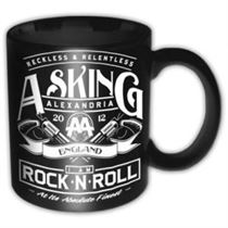Asking Alexandria Rock n Roll Ceramic Boxed Mug - Music and Media