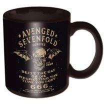 Avenged Sevenfold Sieze The Day Black Boxed Mug - Music and Media