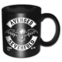 Avenged Sevenfold Death Bat Crest Mug - Music and Media