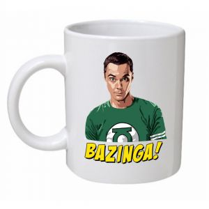 The Big Bang Theory Bazinga Mug