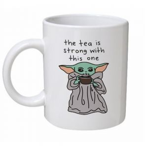 Baby Yoda The Tea Is Strong Star Wars Mug