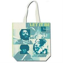 The Beatles Let It Be Colour Cotton Tote Bag - Music and Media