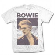 David Bowie Smoking T Shirt Large