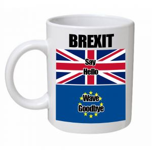 Say Hello, Wave Goodbye Brexit Mug