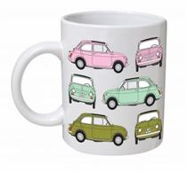 Fiat 500 Classic Car Mug