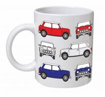 Austin Mini Classic Car Mug