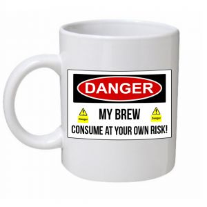 Danger My Brew Mug
