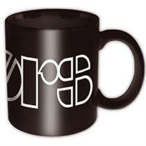 The Doors Black Logo Mug - Music and Media