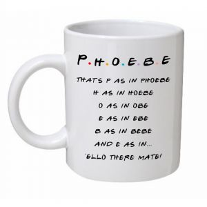P As In Phoebe Mug