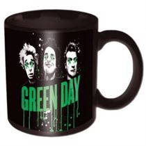 Green Day Drips Boxed Mug - Music and Media