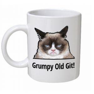 Grumpy Old Git Cat Mug