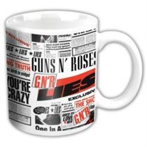 Guns N Roses Lies Ceramic Boxed Mug - Music and Media