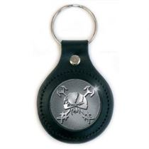 Iron Maiden Keychain: Final Frontier Icon Leather - Music and Media