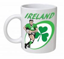 Ireland Rugby Union Mug