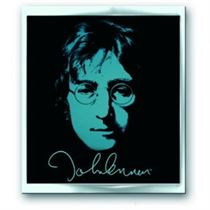 John Lennon  Pin Badge: Photo - Music and Media