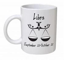 Libra Monochrome Mug