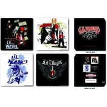 Lil Wayne Coaster Set: Mixed - Music and Media