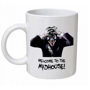 Welcome To The Madhouse Joker Mug