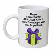 Secret Santa Christmas Mug