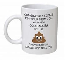 Your New Colleagues Will Be S**t Emoji Mug