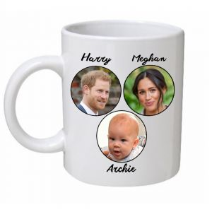 Harry, Meghan & Archie Royal Family Mug