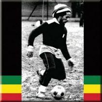 Bob Marley 'Soccer' Fridge Magnet