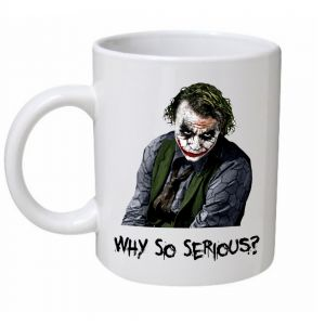 Why So Serious Joker Mug