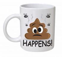 S**t Happens Emoji Mug
