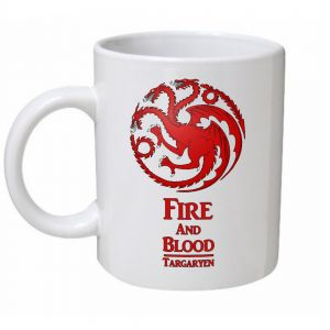 Fire And Blood Game Of Thrones Mug