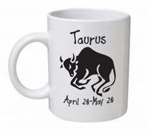 Taurus Monochrome Mug