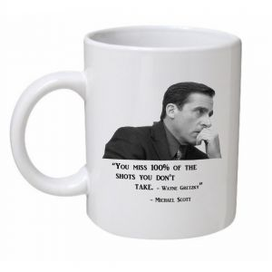 You Miss 100% Of The Shots You Don't Take Mug