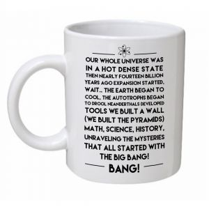 The Big Bang Theory Theme Song Mug