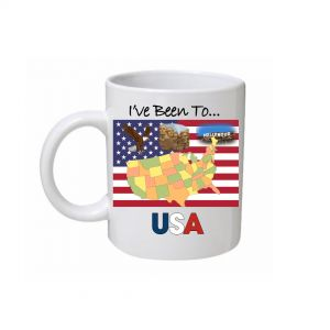 I've Been To USA Mug