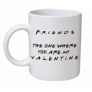 The One Where You Are My Valentine With Logo Mug