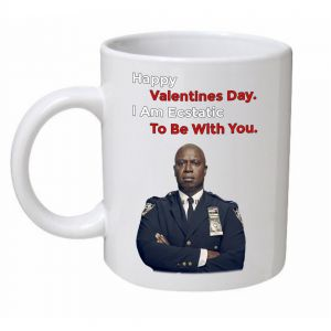 Happy Valentines Day Brooklyn Nine-Nine Mug