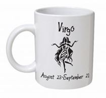 Virgo Monochrome Mug