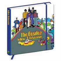 The Beatles Yellow Submarine Album Cover Notebook - Licensed Merchandise