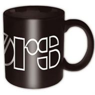 The Doors Black Logo Mug - Music and Media