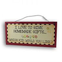 Homemade Gifts - Mini Magnetic Plaque