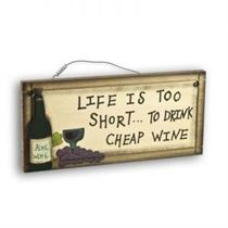 Fine Wine - Mini Magnetic Plaque