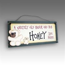 Honey - Mini Magnetic Plaque