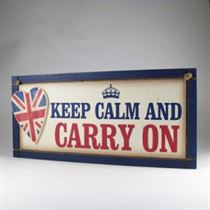 Carry On Plaque - Wooden Plaque