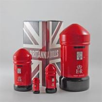 Post Box - Russian Matryoshka Nesting Dolls