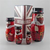 Beefeater - Russian Matryoshka Nesting Dolls