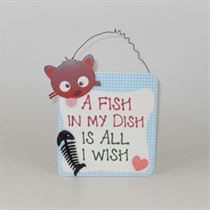 A Fish In My Dish - Pet Hangers