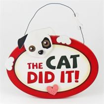 The Cat Did It - Pet Hangers
