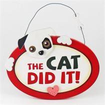 The Cat Did It - Pet Hangers