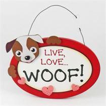 Live Love Woof - Pet Hangers