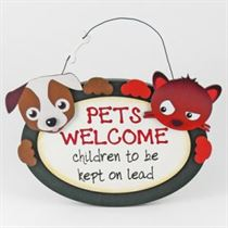 Pets Welcome - Pet Hangers