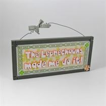 Leprechauns - Irish Plaque